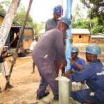 The Water Project: Kitonki Community A -  Drilling