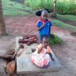 The Water Project: Lwangele Community -  Sanitation Platform