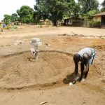 The Water Project: Tintafor, Fire Force Barracks Community -  Well Pad