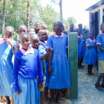 The Water Project: Eshiamboko Primary School -  Finished Latrines