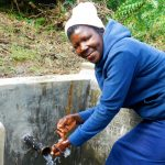 The Water Project: Ulagai Community, Aduda Spring -  Clean Water