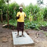 The Water Project: Burachu B Community -  Sanitation Platform