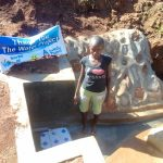 The Water Project: Lwangele Community, Machayo Spring -  Clean Water