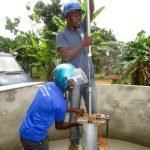 The Water Project: Tulun Community, 10 Tulon Road -  Pump Installation