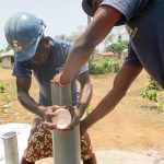 The Water Project: Kasongha Community, Kombrai Road -  Drilling