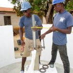 The Water Project: Molokoh Community, 720 Main Motor Road -  Pump Installation