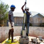 The Water Project: Rotifunk Baptist Primary School -  Pump Installation