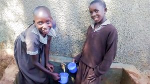 The Water Project:  Ngesa And Mercy