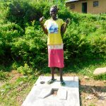 The Water Project: Ulagai Community, Rose Obare Spring -  Sanitation Platform
