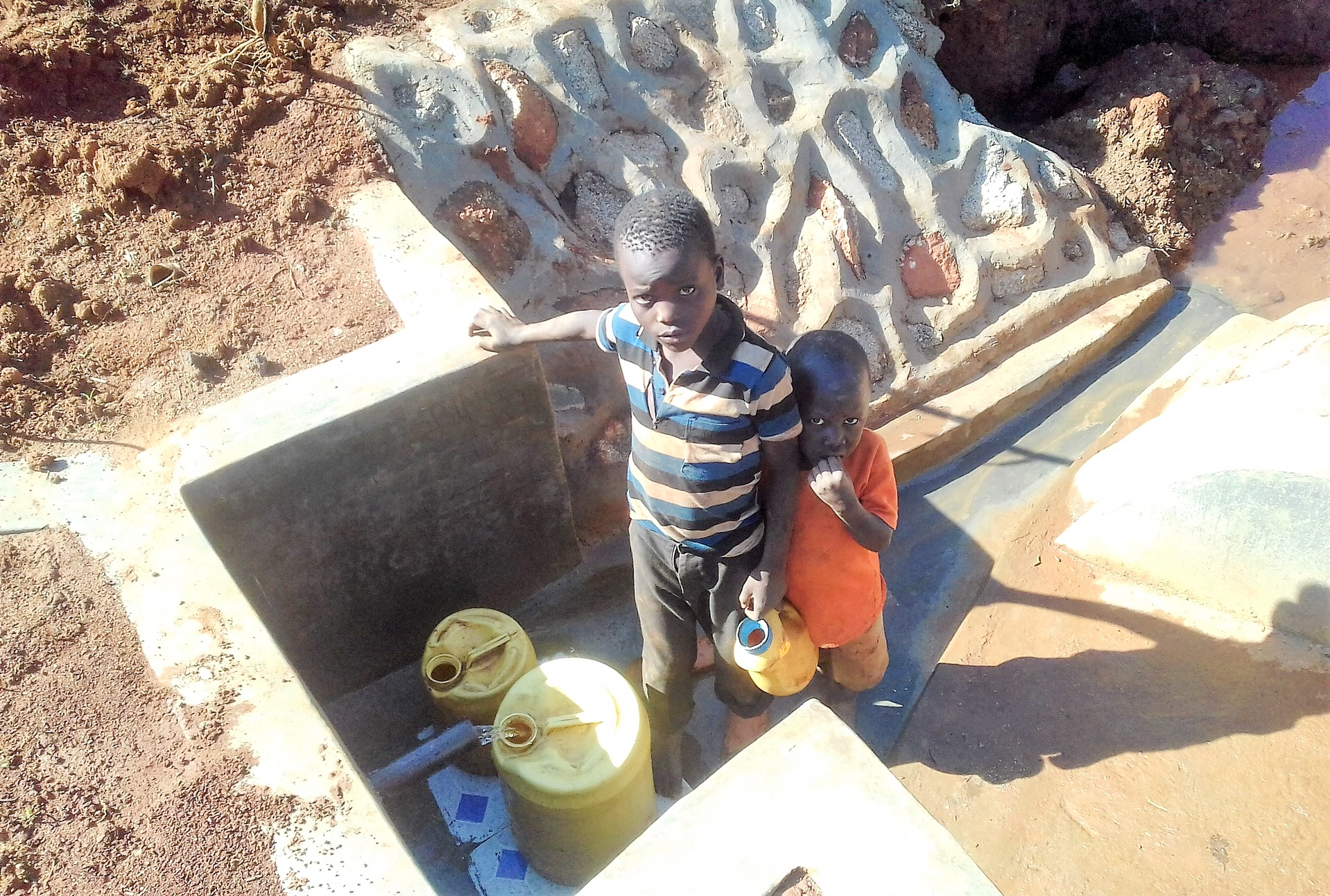 The Water Project : 23-kenya18137-clean-water