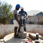 The Water Project: Rotifunk Baptist Primary School -  Pump Installation