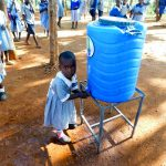 The Water Project: Emmaloba Primary School -  New Handwashing Stations