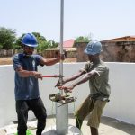 The Water Project: Mahera Community, 3 Robolla Street -  Pump Installation