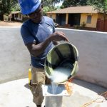 The Water Project: Tintafor, Fire Force Barracks Community -  Well Chlorination