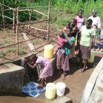 The Water Project: Emulakha Community, Alukoye Spring -  Finished Spring Protection