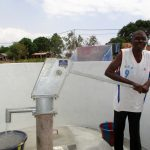 The Water Project: Molokoh Community, 720 Main Motor Road -  Successful Pump Installation