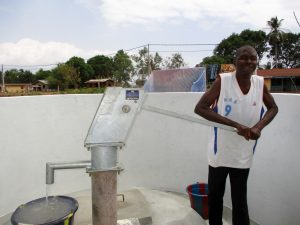 The Water Project:  Successful Pump Installation