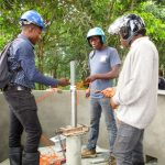 The Water Project: Kitonki Community A -  Pump Installation