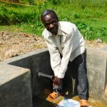 The Water Project: Ulagai Community, Rose Obare Spring -  Clean Water