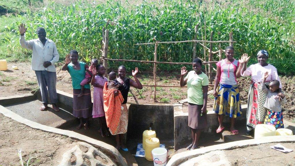 The Water Project : 27-kenya18117-finished-spring-protection