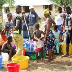 The Water Project: Kasongha Community, Kombrai Road -  Yield Test