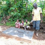 The Water Project: Mbande Community -  Sanitation Platform