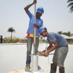 The Water Project: Kasongha Community, Kombrai Road -  Pump Installation
