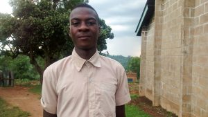 The Water Project:  Akalomba Felix
