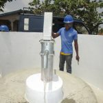 The Water Project: Kasongha Community, Kombrai Road -  Pump Installation Success