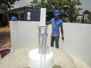 The Water Project:  Pump Installation Success