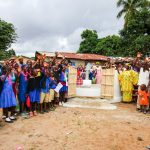 The Water Project: Modia Community, 4 Father Road -  Clean Water