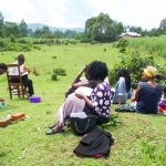 The Water Project: Mbande Community, Handa Spring -  Training