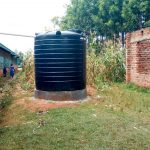 The Water Project: Bumuyange Primary School -  The Plastic Tank For Preschool Children