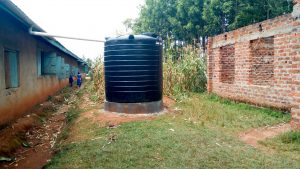 The Water Project:  The Plastic Tank For Preschool Children