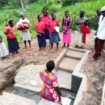 The Water Project: Mwituwa Community, Nanjira Spring -  Spring Management Training
