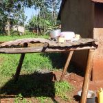 The Water Project: Viyalo Primary School -  Kitchen Dishes Drying