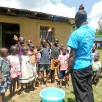 The Water Project: Ulagai Community, Rose Obare Spring -  Handwashing Training