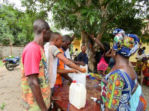 The Water Project:  Making Tippy Tap Handwashing Stations