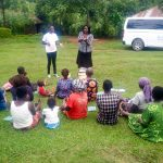 The Water Project: Mwituwa Community, Shikunyi Spring -  Handwashing Training