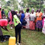 The Water Project: Burachu B Community, Shitende Spring -  Handwashing Training