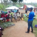 The Water Project: Lwangele Community, Machayo Spring -  Water Treatment Training