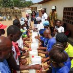 The Water Project: Kasongha Community, Maternal Child Health Post -  Handwashing Station Training