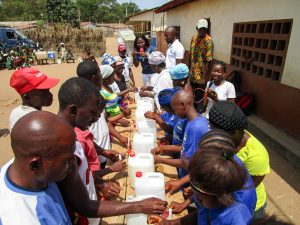 The Water Project:  Handwashing Station Training