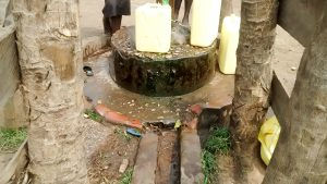 The Water Project:  Well That Needs Rehabilitation