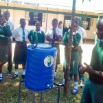 The Water Project: Mulwakhi Secondary School -  Handwashing Training