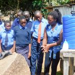 The Water Project: Samson Mmaitsi Secondary School -  Handwashing Training