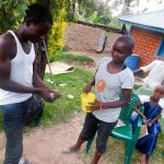 The Water Project: Ulagai Community, Aduda Spring -  Handwashing Training