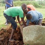 The Water Project: Musango Community A -  Getting Stones For Construction