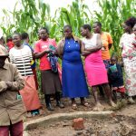The Water Project: Burachu B Community -  Spring Management And Maintenance Training