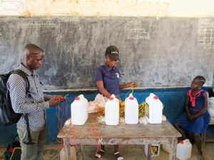 The Water Project:  Tippy Tap Construction Training